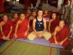 Монастырь в Бирме, 2007 г.